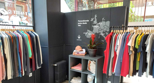 Eugenia de la tienda de Barcelona