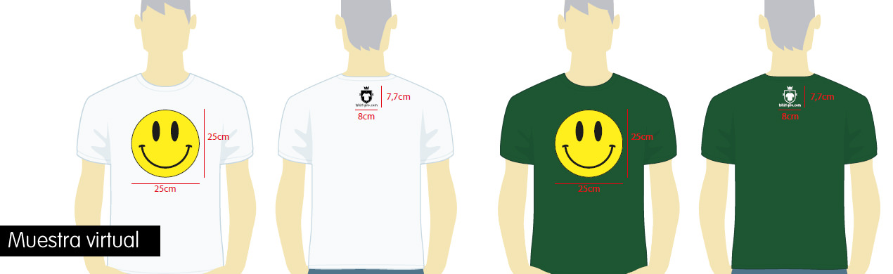 Camisetas estampadas solidarias