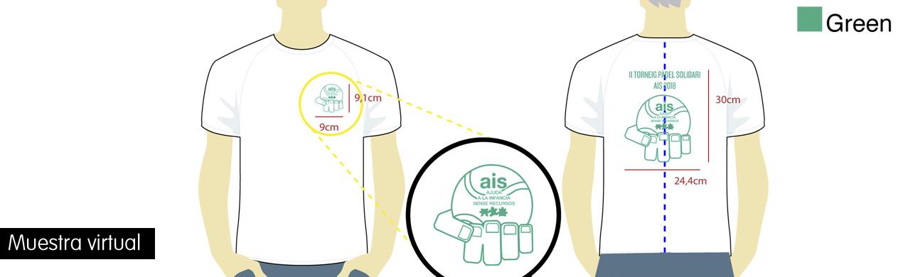 Camisetas solidarias personalizadas