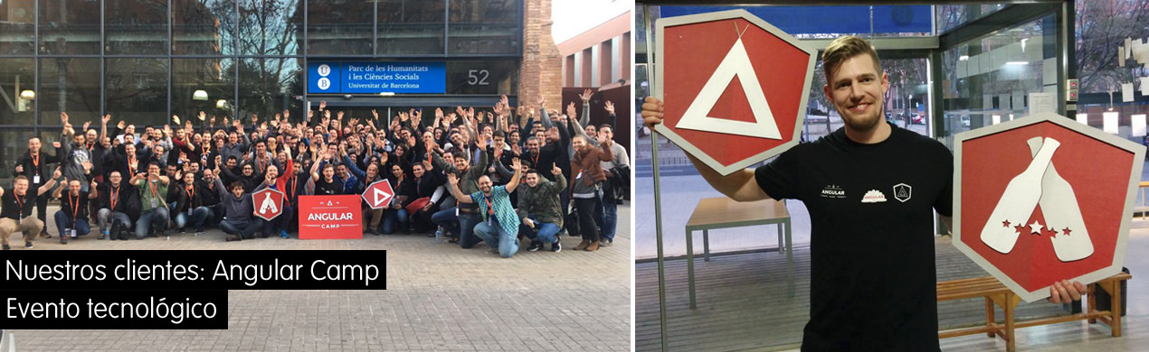 Foto de grupo evento Angular Beers Barcelona