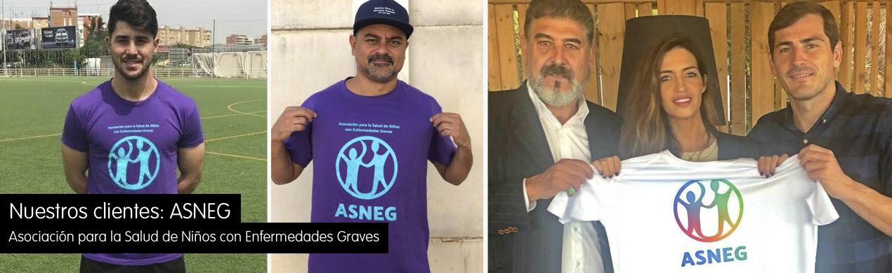 Camisetas personalizadas para ONGs
