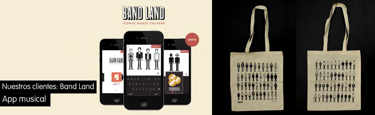 Bolsas promocionales Band Land