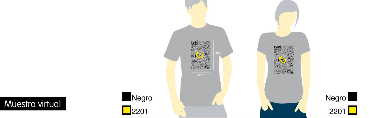 Camisetas personalizadas para carreras