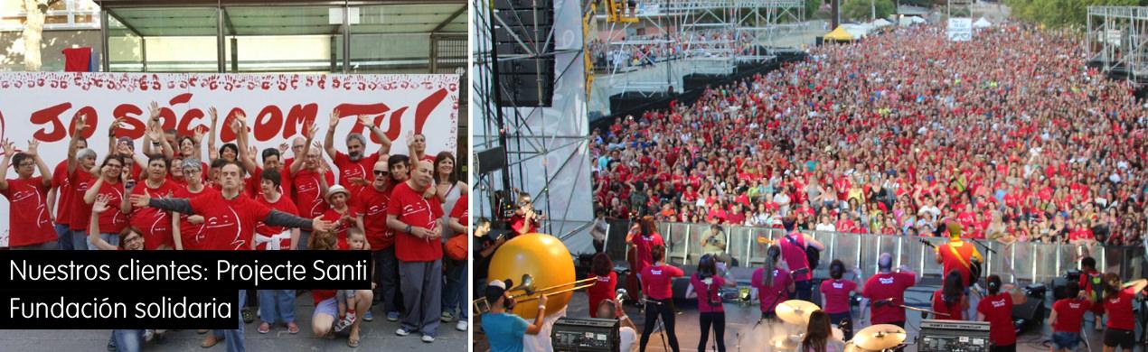 Projecte Santi, asociación solidaria