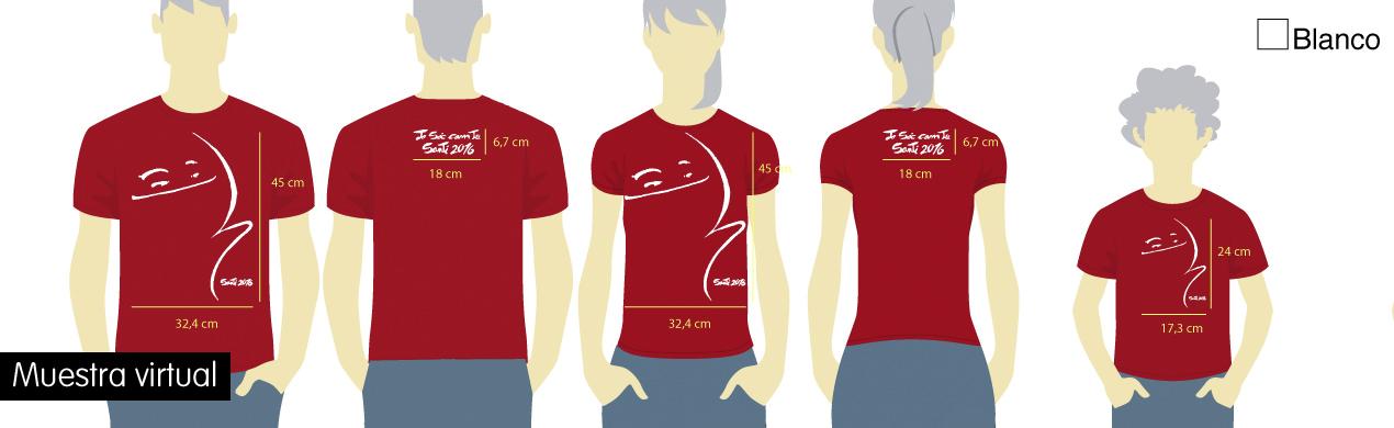 Camisetas personalizadas solidarias