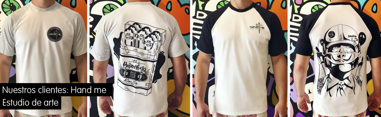 Camisetas gráficas personalizadas