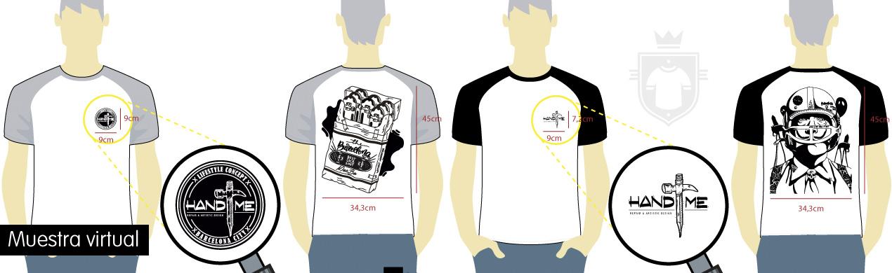 Camisetas personalizadas de diseño