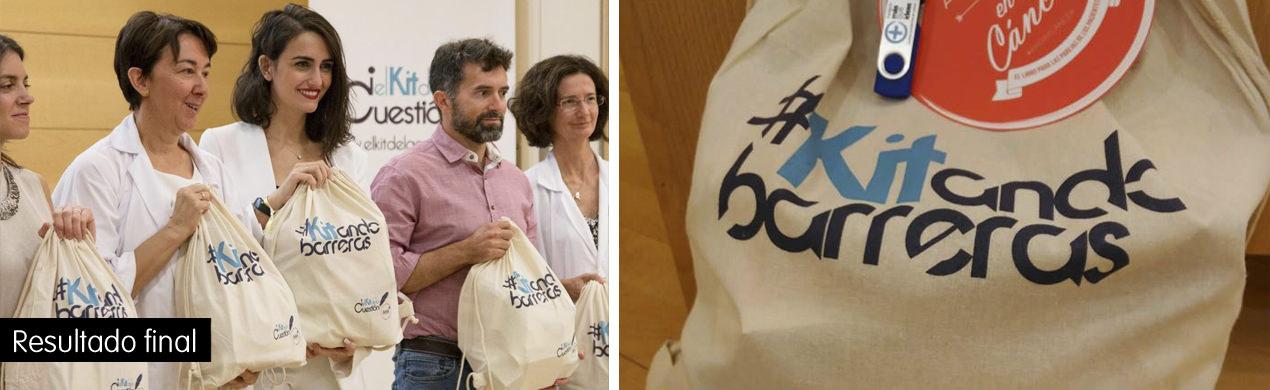 Bolsas de algodón personalizadas El Kit de la Cuestión