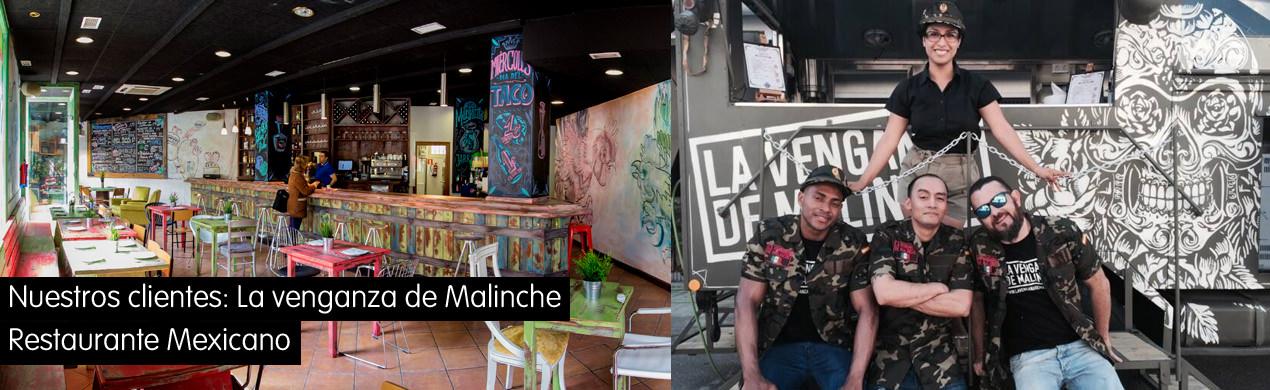 Restaurante mexicano Venganza de Malinche