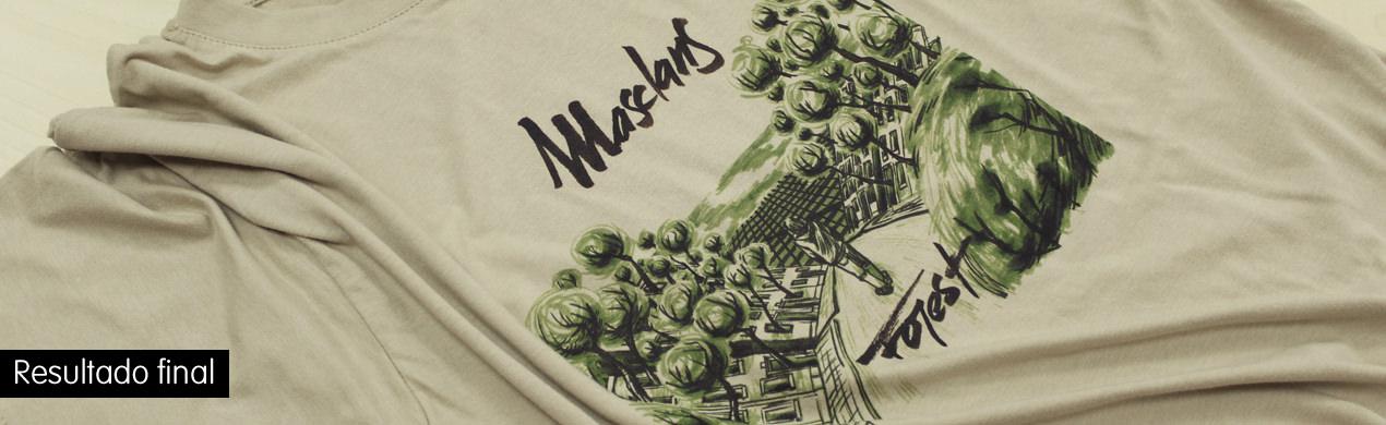 Camisetas personalizadas en impresión digital
