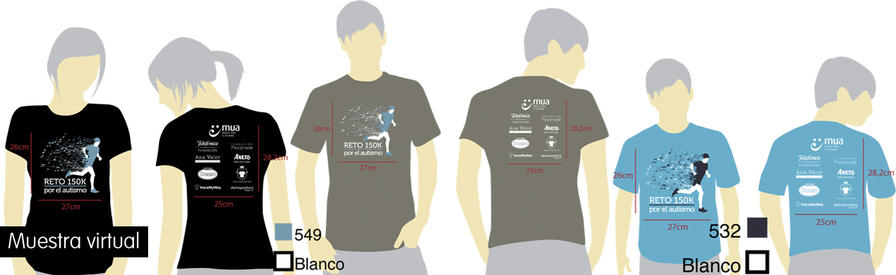 Camisetas técnicas solidarias