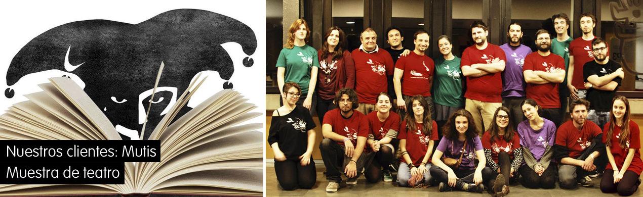 Camisetas personalizadas Mutis