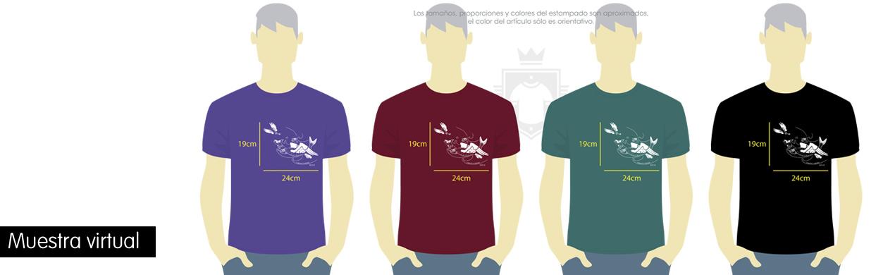Personalizar camisetas en serigrafía