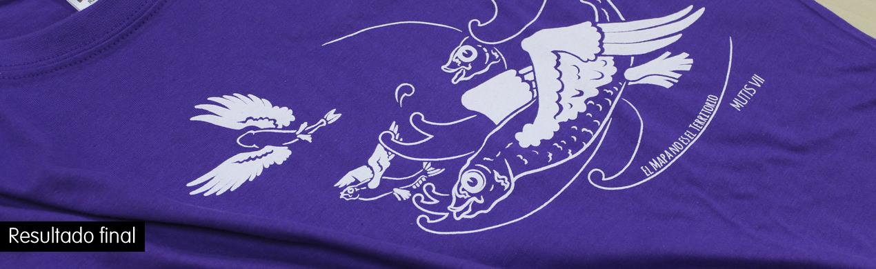 Camisetas personalizada serigrafía textil