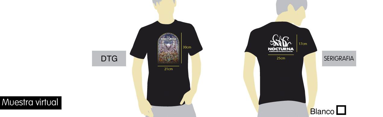 Muestra virtual de las camisetas