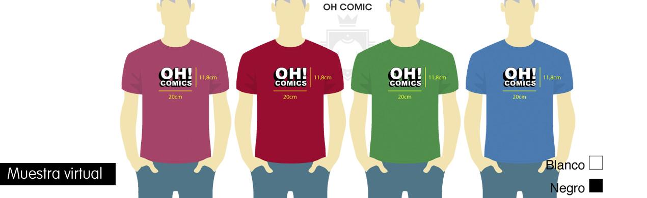 Camisetas para convenciones de comics