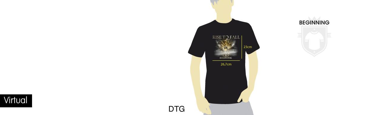 Virtual camiseta personalizada