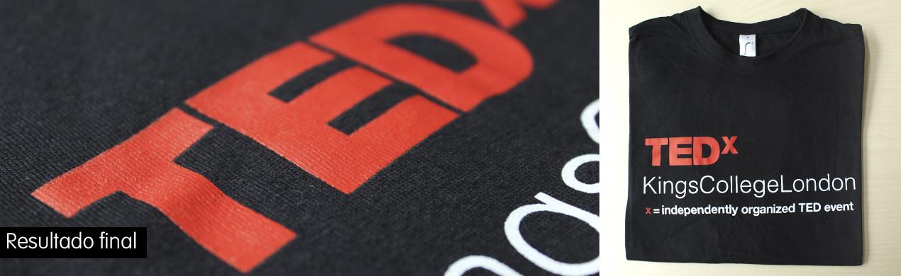 Camisetas serigrafiadas a 2 tintas