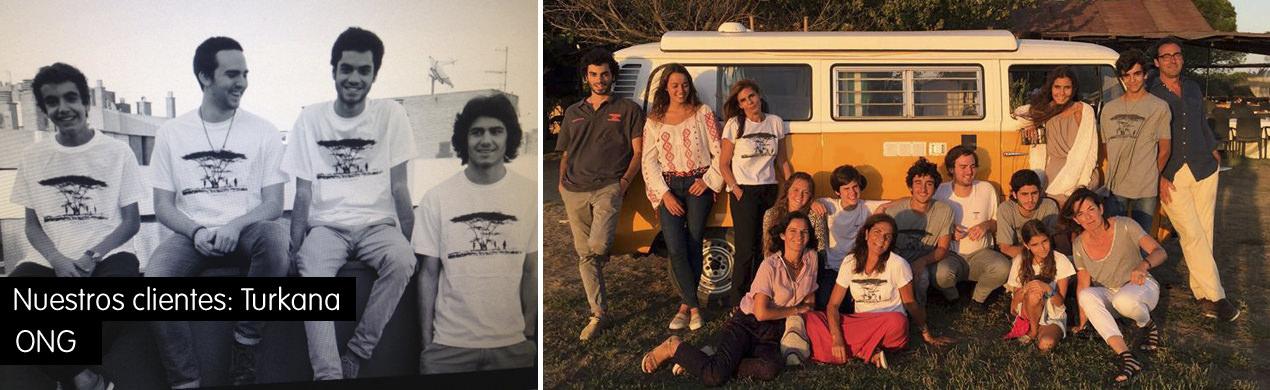 camisetas para ONG