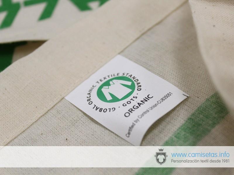 Bolsas orgánicas personalizadas