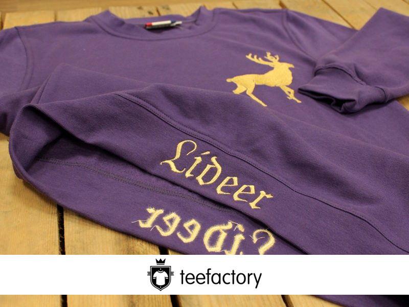 Embroidered Clique Sweatshirt