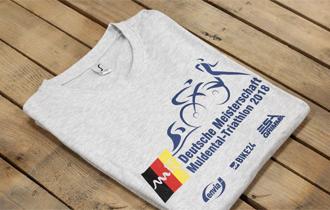 Camisetas impresas a 4 tintas