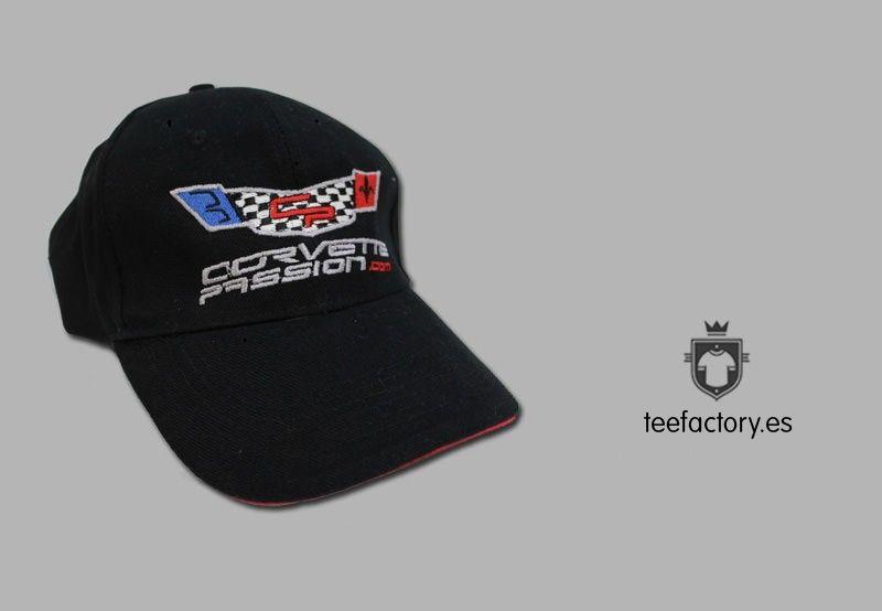 Gorras personalizadas con bordados