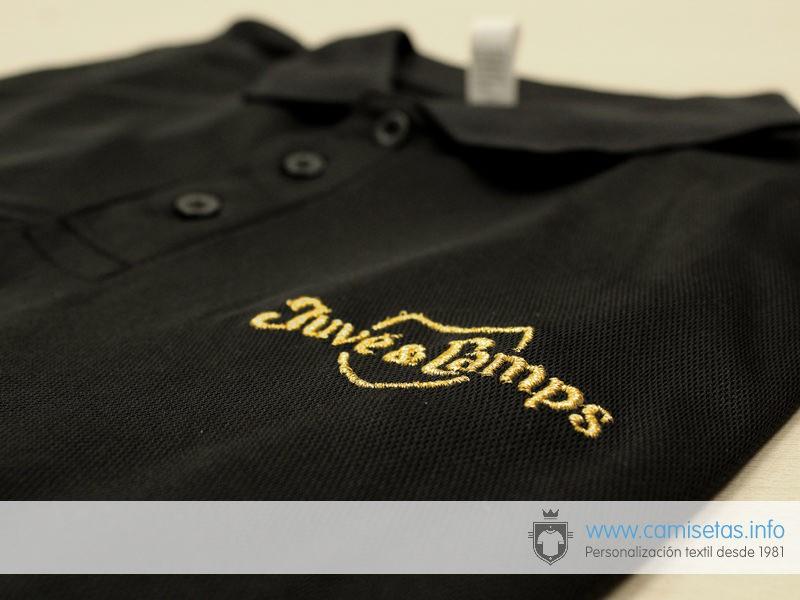 Nuestros clientes suelen bordar su logo en la parte trasera o bien en las  mangas. Un pequeño bordado aumenta el valor de cualquier prenda. 6e79f3b7c63