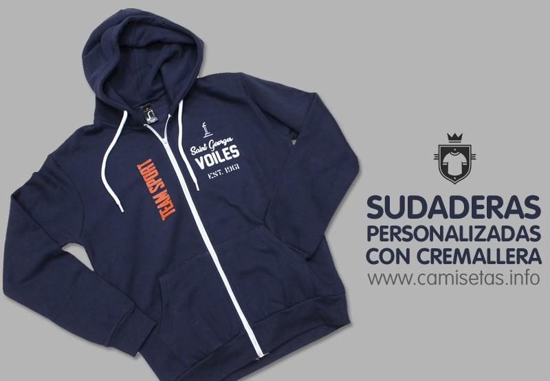 Sudaderas personalizadas con cremallera Camisetas personalizadas ... a73bb37bfd93e