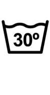 Lavar máximo a 30ºC