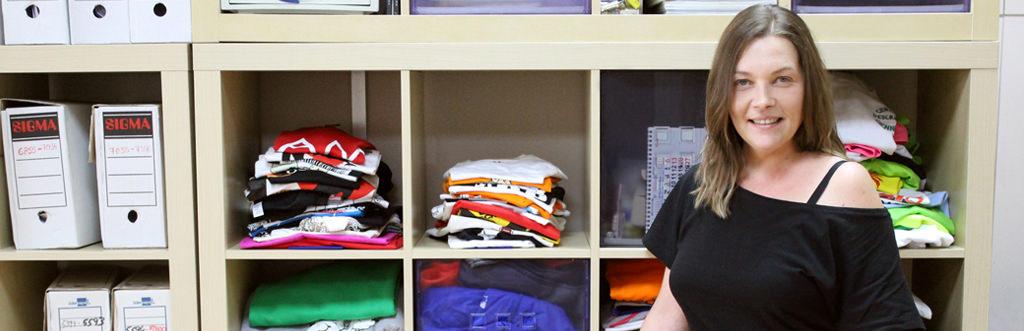 Inma, comercial internacional de camisetas.info
