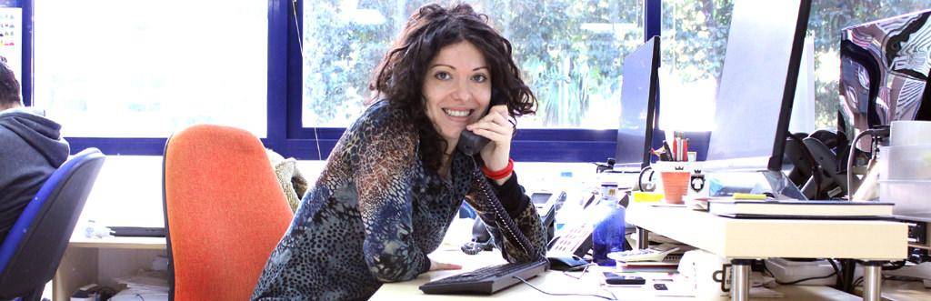 Luana, comercial de la web italiana