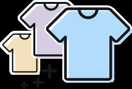 Otras opciones para personalizar camisetas