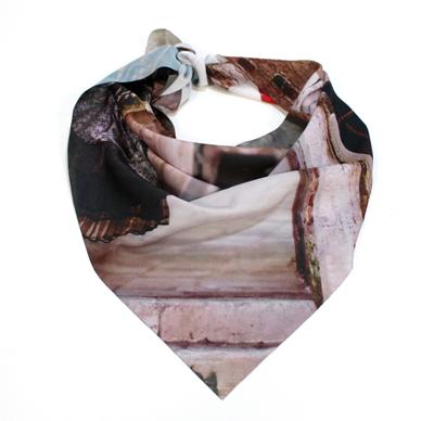 fullprint  Pañuelo Triangular