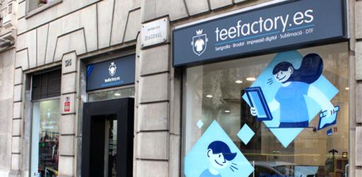 Showroom Teefactory Barcelona