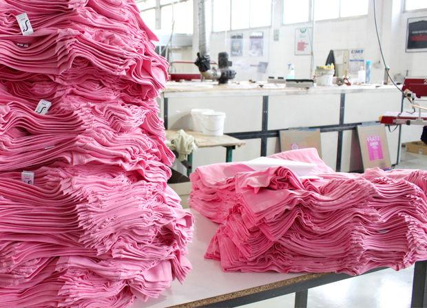 Pedido mínimo de prendas serigrafiadas